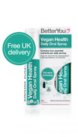 BetterYou Vegan Health Daily Oral Spray - 25ml contains 4 essential nutrients