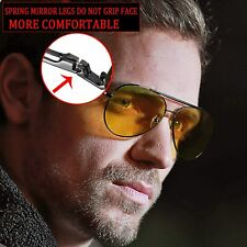 HD night driving glasses anti glare polarized mens women glasses