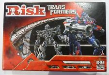 TRANSFORMERS RISK BOARD GAME CYBERTRON WAR EDITION  COMPLETE Contents Sealed