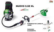 DECESPUGLIATORE A ZAINO ACTIVE 5.5 Z XL SUPER PROFESSIONALE 100% MADE IN ITALY