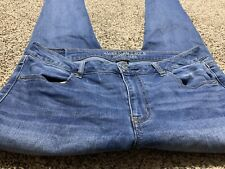 AE AMERICAN EAGLE OUTFITTERS JEGGING SUPER STRETCH WOMENS JEANS SIZE 14