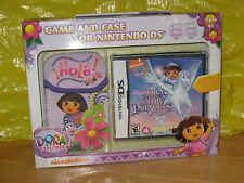 2010 DORA THE EXPLORER SAVE THE SNOW PRINCESS  DSI GAME & CASE NEW