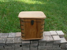 Ancien PORTE bouteilles bois bistrot OU PREMIÈRE GLACIÈRE french antique box