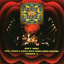 Gov't Mule LIVE WITH A LITTLE HELP FROM OUR FRIENDS VOLUME 2 New Sealed CD
