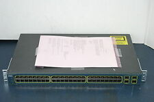 "Cisco WS-C3560-48TS-S V02 48-Port Network Switch ""Tested"""
