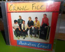 Australian Crawl Crawl File Greatest Hits RARE Original Japanese CD Pressing