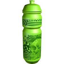 Riesel Flasche Enduro Mountain Bike 750mm Water Drinks Bottle - Green Skull