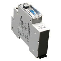 2X(SUL180a 15 Minutes Mechanical Timer 24 Hours Programmable Din Rail Timer U2Y4