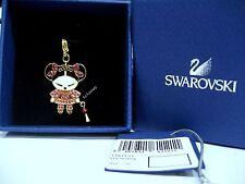 Swarovski Chinese Doll Charm Pendant Red Lantern Crystal Swarovsk - 1161121