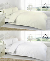 Egyptian Cotton 800 Thread Duvet Cover Set Extra Deep Fitted Sheet 16 inch Flat
