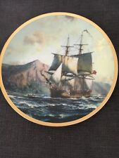 """The Hamilton Collection Plate Call To Adventure """"The Bounty"""" 1993 Mint"""