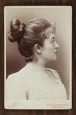 Marion Delorme, Actrice de théâtre, Cabinet card, Photo Nadar Paris