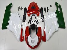 Fit for Ducati 749/999 2003 2004 Deep Green Red White ABS Injection Fairing Kit