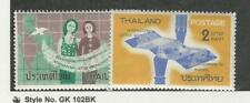 Thailand, Postage Stamp, #424-425 Mint Hinged, 1964