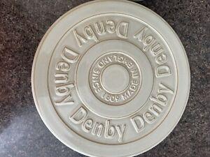 Denby Linen China Trivet Excellent Condition **RARE**