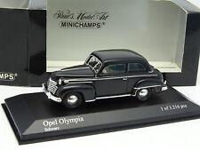 Minichamps 1/43 - Opel Olympia Negra