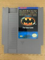 BATMAN NES Nintendo 100% Authentic Working Tested Cartridge Only