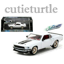 Greenlight Fast & Furious 6 Roman's 1969 Ford Mustang Anvil Halo 1:43 86236