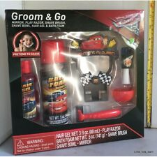 LTB: DISNEY CARS MCQUEEN GROOMING HAIR GEL & BATH FOAM PRETEND SHAVING SET