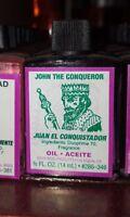 JOHN THE CONQUEROR Ritual Oil Spell Wicca PAGAN Witchcraft 1/2 OZ Santeria