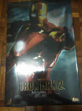 HOT TOYS IRON MAN 2 MMS123 : MARK IV MK4 Mint Back in Box No Fading (7th)