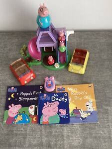 Peppa Pig toy bundle - weebles & other items