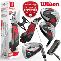 Wilson Profile SGI Full Golf Package Set (Driver+5W+6-SW+Putter+Bag) - NEW! 2020