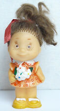 Vintage Original Soviet Russian Rubber Toy Girl Doll Ussr