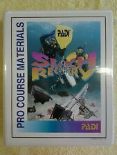 PADI SEARCH & RECOVERY PRO COURSE MATERIALS INSTRUCTOR MATERIALS SCUBA DIVING