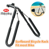 AU Stock Surfboard Bicycle Carrier Rack Bike Skimboard New Side Kiteboard Holder