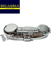 2333 - COPERCHIO COPRIMOZZO MOZZO FORCELLA CROMATO VESPA PX 125 150 200 A DISCO