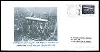 SPAIN PRIVAT-MARKE ZEPPELIN LZ-129 CUSTOM STAMP ONLY 1 COVER MADE!! cg21