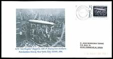 Spain privada-marca Zeppelin lz-129 Custom Stamp only 1 cover Made!!! cg21