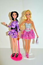 Barbie & Raquelle Life in the Dreamhouse Fashionista Talking Dolls,Rooted lashes