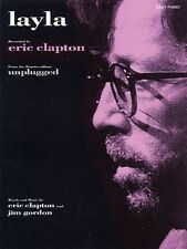 Layla Sheet Music Easy Piano Eric Clapton NEW 000110049