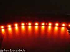 "RED ADD ON 12"" 5050 SMD LED STRIP FITS ALL CARS TRUCKS MOTORCYCLES SUVS BOATS"