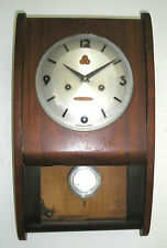 Vintage 555 China 30 Day Curve Front Pendulum Wall Clock