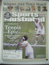 ANNA KOURNIKOVA signed 2008 Sports Illustrated tennis magazine AUTO Autographed
