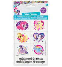 My Little Pony Temporary Tattoo - 4 sheets, 24 tattoos
