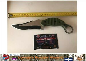Hunting and Skinning Knife with Nylon Sheath