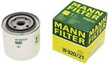1x Filtre À huile Mann-filter W 920/21 Renault 18 variable 20 25 Fuego Peugeot