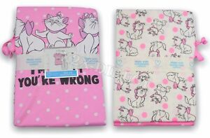 Disney Aristocats Marie Primark Pink Short Sleeve T-Shirt & Bottoms Pyjamas PJs