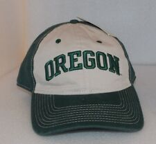 New OREGON DUCKS Official NCAA Green Beige THE GAME  CAP HAT Adjustable 1 Size