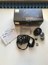Nikon D5100 + AF- DX NIKKOR 18-105mm f/3.5-6.5G ED VR NEUWERTIG!