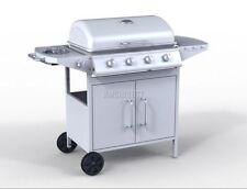 Barbecues et équipements de chauffage extérieur argentés