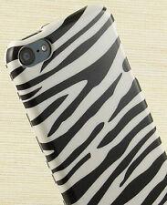 WHITE BLACK ZEBRA SKIN HARD CASE COVER FOR APPLE iPOD TOUCH 5 6