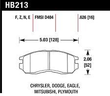Hawk Performance HB213E.626 Low To Intermediate Torque Disc Brake Pads