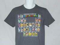 NEW Super Mario Figures Video Game Nintendo T Shirt Kong Bowser Yoshi Mens M-3XL