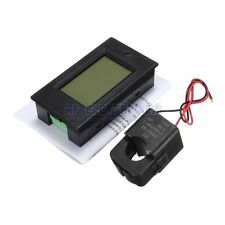 100A AC260V Digital Watt Power Energy Meter Current Tester Voltmeter with Open-c