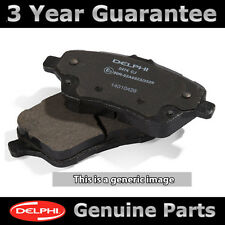 FRONT DELPHI LOCKHEED BRAKE PADS FOR NISSAN X-TRAIL 2.0 DCI FWD 2.5 4X4 2007-13